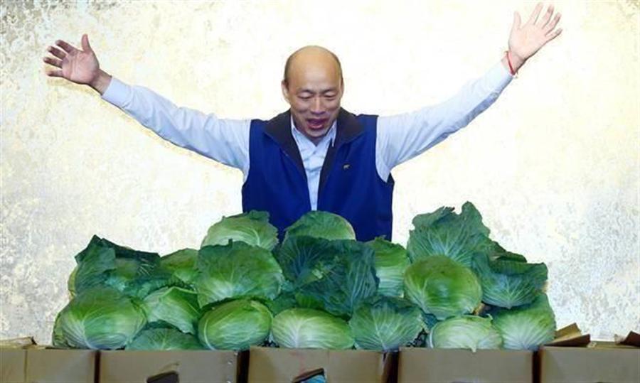 韓國瑜網路聲量高漲,被喻為「最強菜販」。但黃創夏認為韓國瑜沒有樂觀的本錢,如果沒辦法確保「票票到匭」,再高的支持度,終究只是?#19968;?#19968;現。(本報系資料照)