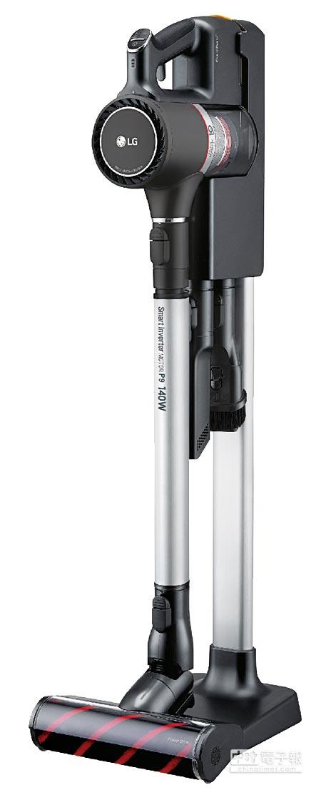 比漾廣場LG CordZero A9無線吸塵器,原價2萬3900元、特價1萬8900元;比漾卡友加碼贈1000元比漾禮券。(比漾廣場提供)