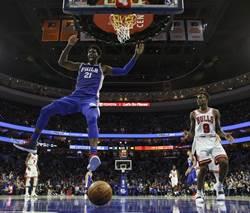 NBA》恩比德中午自帶便當 低調的藍領大帝