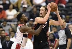 NBA》歐利尼克最後0.2秒絕殺補籃 熱火險勝巫師