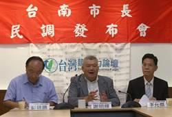 台南》最新民調出爐 黃偉哲以7%領先