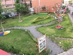 喜迎花博!中市社區發展協會綠美化打造社區新亮點