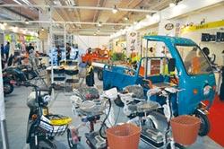康騏三輪電動搬運車 打入批發市場