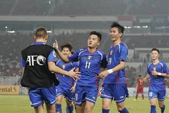 亞青足U19錦標賽 中華首戰1比3不敵印尼