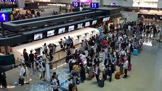 桃機二航自助行李託運櫃檯啟用 時間省一半