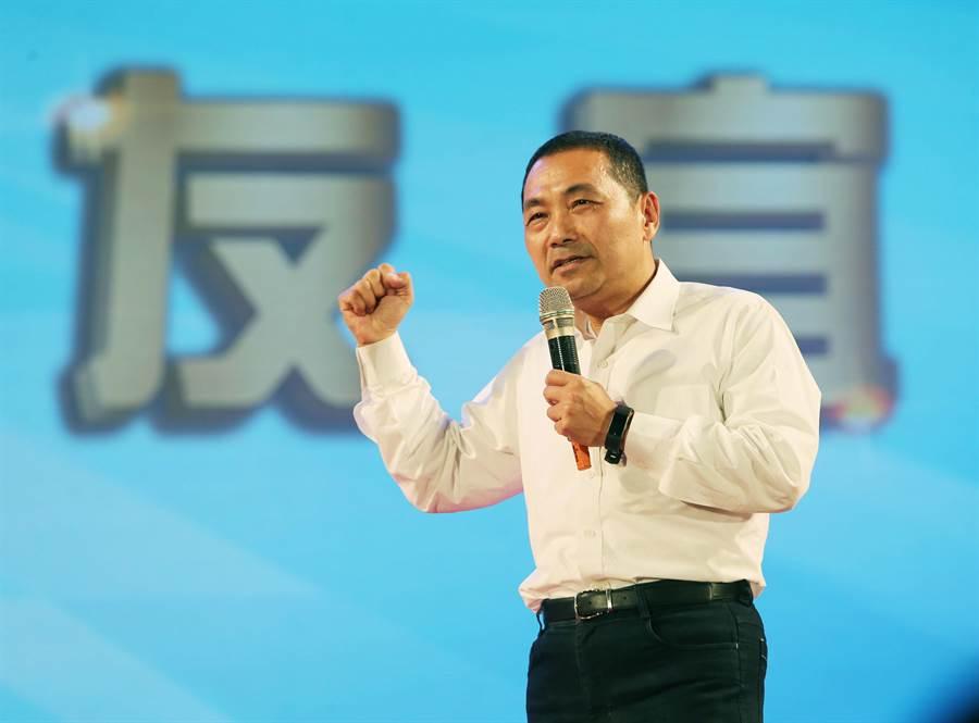 國民黨新北市長候選人侯友宜。(圖/本報資料照,黃國峰攝)