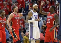 NBA》單場149分!鵜鶘改寫隊史紀錄退國王