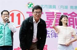 台北》姚文智站台大讚高嘉瑜 稱「退黨」風波已忘記