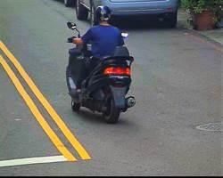 偷車慣竊騎回原地 遭鎖定警定落網