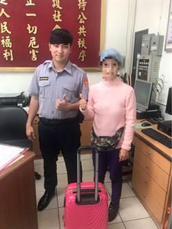 熱心司機、員警攜手助行李箱歸主  醫界女大讚足感心