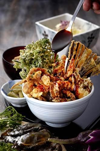 酥炸得好滋味!海鮮族最愛「軟殼蟹天丼」秋季限定登場