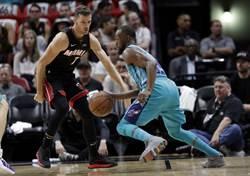 NBA》罰球也能絕殺!沃克狂飆39分領黃蜂滅火