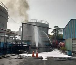 高雄林園工業區廢油槽爆炸 濃煙竄天遭罰500萬
