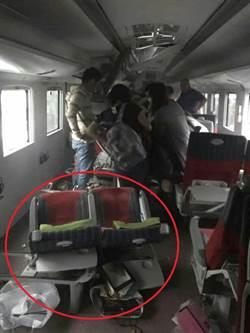 普悠瑪意外車內照曝光! 衝撞力道驚人 連椅子都脫離椅座!