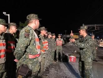 普悠瑪列車宜蘭事故 國軍出動百餘官兵救援