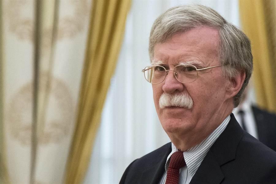美國國家安全顧問博爾頓將於近期訪問莫斯時向俄羅斯提出川普決定讓美國退出《中導條約》的決定。(圖/美聯社)