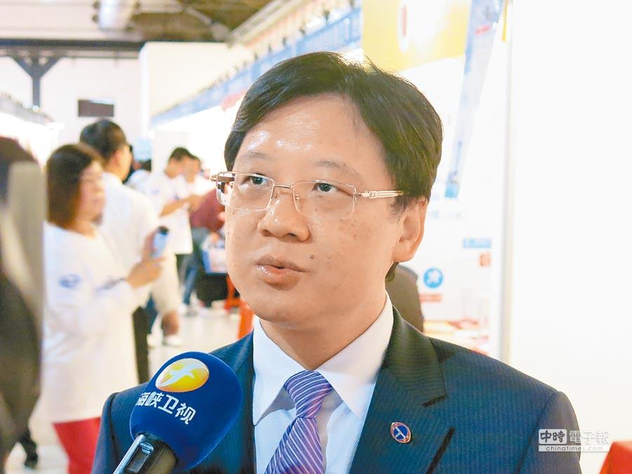 上海台協會長李政宏。(本報資料照片)