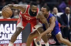 NBA》保羅遭禁賽 火箭客場遭快艇逆襲而落敗