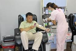 台南》悼念普悠瑪列車事故 高思博暫停競選率幕僚響應捐血