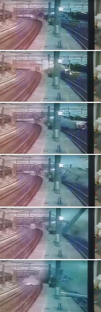 普悠瑪出軌事故神似日本JR福知山線事故  超速原因是調查關鍵