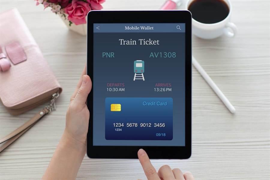 刷卡買車票免費送保險(圖/達志影像)