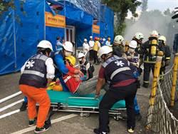 《觀光股》六福村大型災防演習,突襲考驗緊急應變力