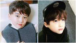 這麼可愛一定是男生!韓國小帥哥「太皓」網友:現在就這樣長大還得了