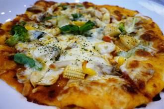 蔬食披薩也能很義大利  奇香妙草找老外師傅傳授技法