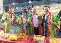 農業局與和平區公所北上行銷甜柿 推廣冬季農產品