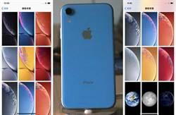 別人吃不到 iPhone XR系列內建12款專屬多彩桌布