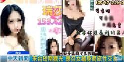 影》西門嫩妹「配合度高歡迎調教」應召站廣告讓警察看了...