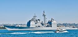 多艘陸艦尾隨美艦 保安全距離