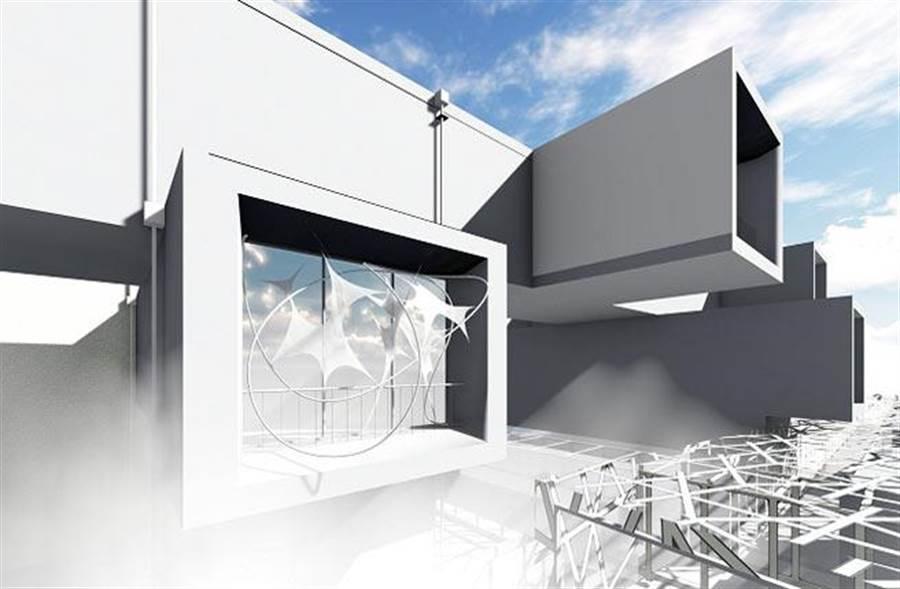 張懷文、MAS微建築研究室《北美雲》作品。圖/臺北市立美術館