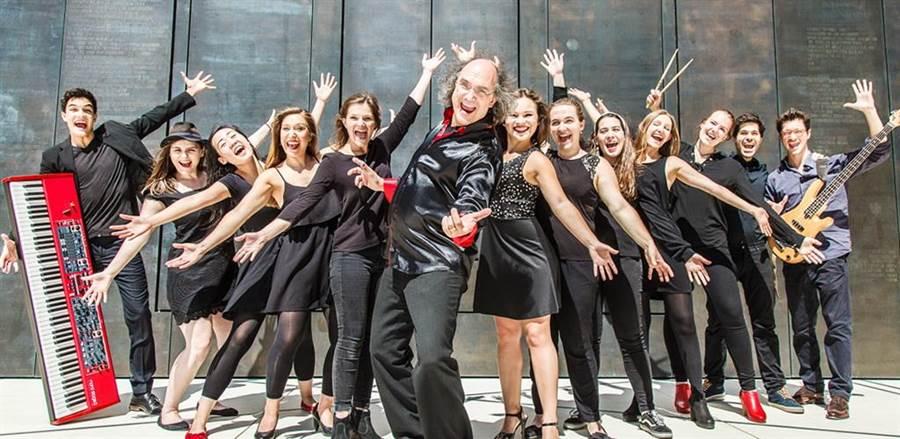 德國音樂團體Bernd Ruf MHL Vocalband。(圖/台中市府提供)