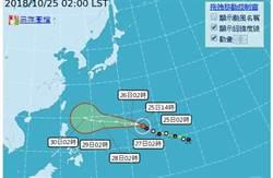 強颱玉兔行徑仍有不確定性 入秋最強冷空氣周末報到