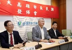 高雄》台灣競爭力論壇民調 韓國瑜39% v.s 陳其邁32.7%