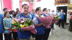 新竹》市長候選人許明財光復節參加蔣公紀念大會籲大家記取歷史教訓