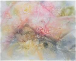 洪德忠新作國際展亮相 用花朵、軀體展現純淨一面