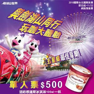 ITF台北國際旅展 劍湖山祭好康不玩可惜