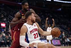 NBA》雙塔肆虐禁區 活塞送騎士開季5連敗