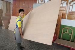 史上最瘦小 49公斤男木工國手拚金牌