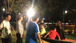 嘉義市公園共融式遊具頻傳意外 議員質疑搶開幕
