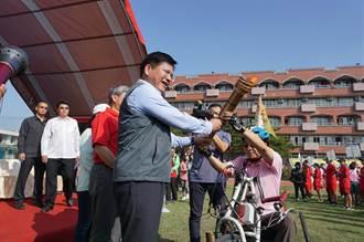 台中市身障國民運動會登場 2000人競逐13項賽事