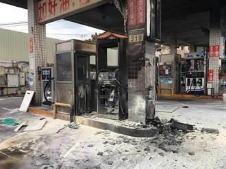新店加油站火警  外包商傷重不治