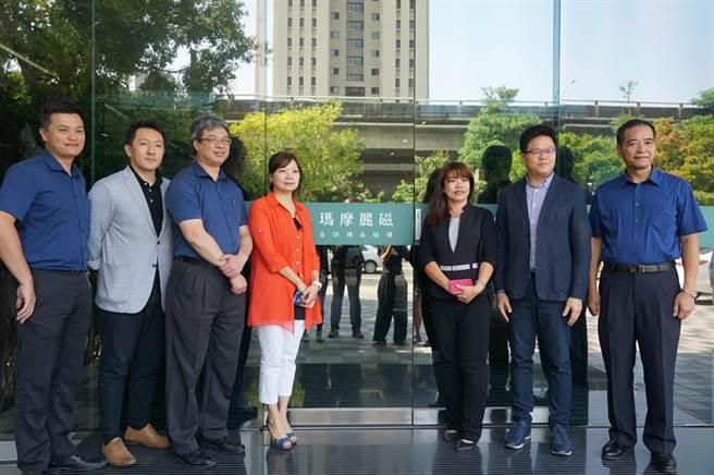 深耕台灣磁磚界20餘載的「MML瑪摩麗磁」,長期協助建築師與室內設計師,有效提升案場空間價值。(盧金足攝)
