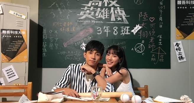 徐韜(左)與季念潔。(三立提供)