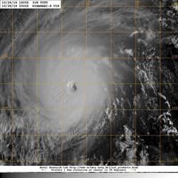 強颱玉兔超兇照看這裡 下週三雨襲北台灣