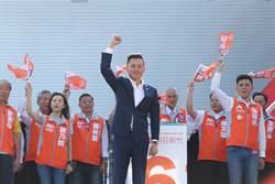 新竹》新竹市長林智堅競選總部成立 小英、賴神合體站台