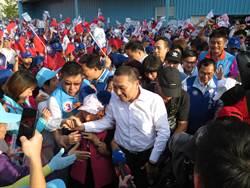新北》女力站出來!逾5000人擠爆侯友宜市民總部