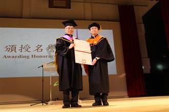 中研院院士蔡安邦 獲頒北科大名譽博士